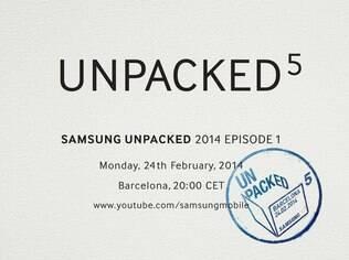 Samsung fará anúncio no primeiro dia do MWC