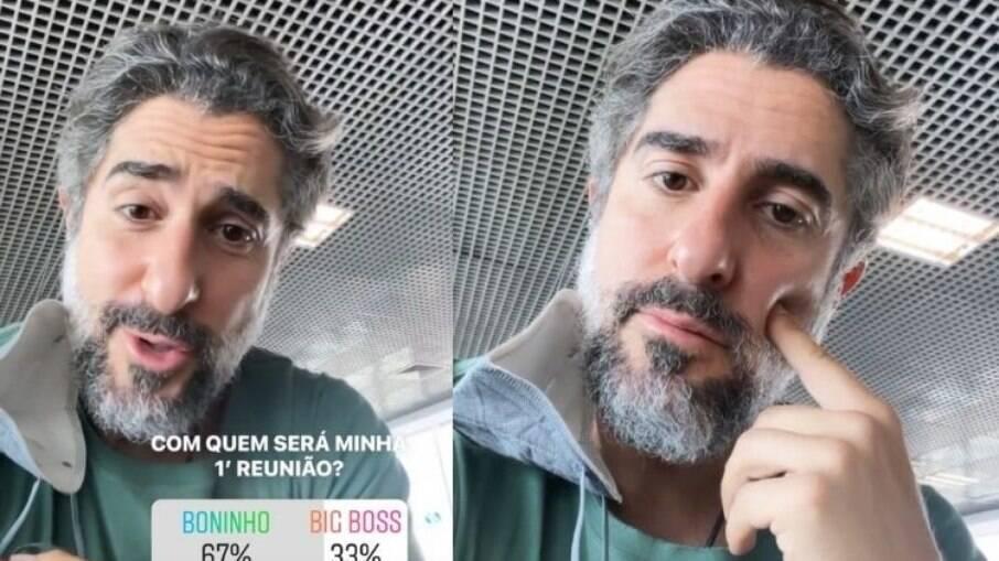Mion está animado para encontrar com Boninho na Globo