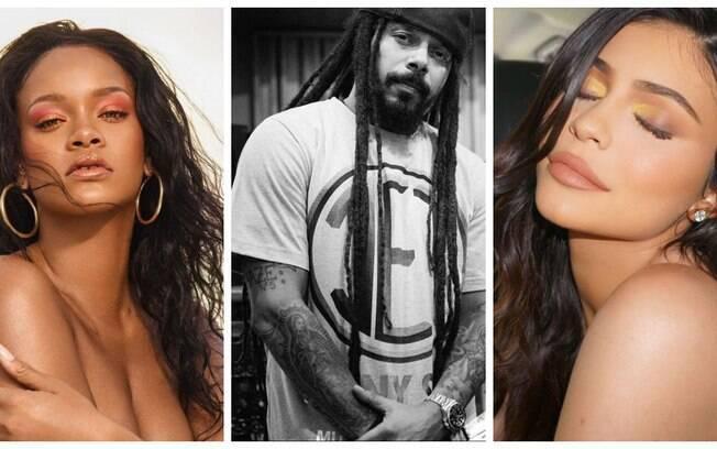 Rihanna, Falcão, Kylie Jenner e outros famosos que tem a sua própria marca