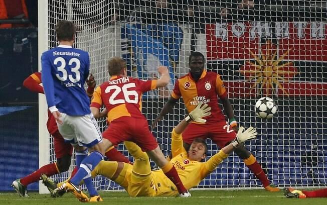 Neustädter fez o primeiro gol do jogo,  colocando o time alemão na frente