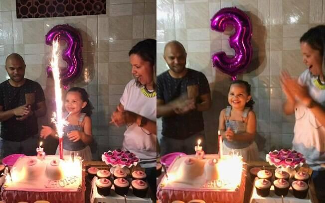 Mãe tentou convencer a filha de mudar o tema da festa de aniversário, mas nenhum desenho é mais legal que o