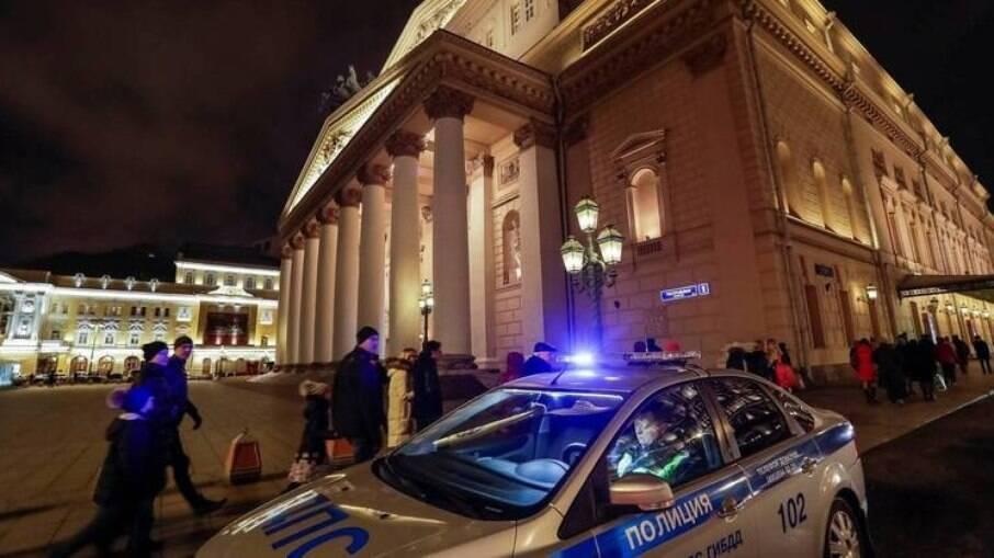 O Teatro Bolshoi de Moscou é um dos teatros de maior prestígio do mundo