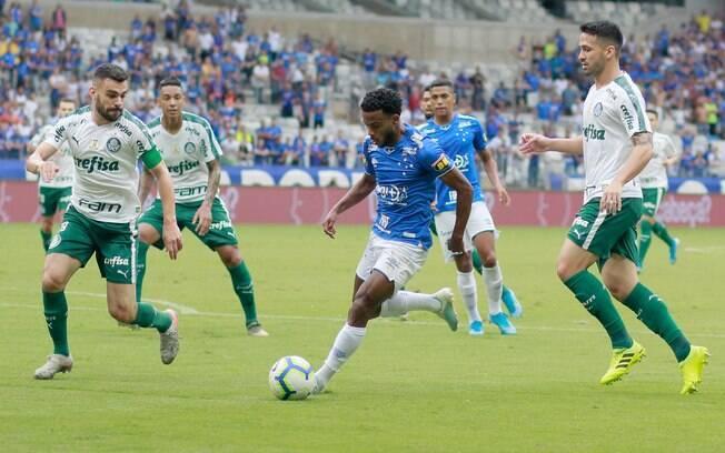 Cruzeiro e Palmeiras se enfrentaram no Mineirão
