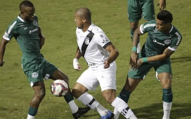 Ponte vence o Goiás e deixa a zona de rebaixamento na Série B