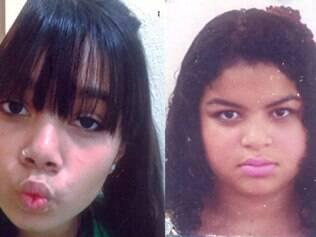 Larissa e Priscila estão desaparecidas desde a última quinta-feira