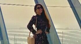 Raissa Barbosa come carpaccio de ouro em Dubai