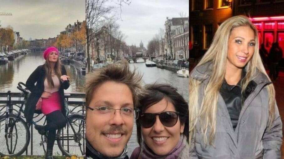 Geisy Arruda, Fábio Porchat e Valesca já visitaram a cidade