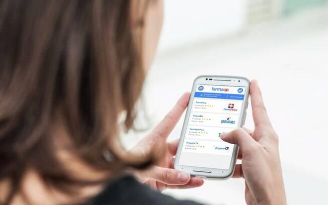 Aplicativos como o Farmaup ajudam o consumidor na hora da compra