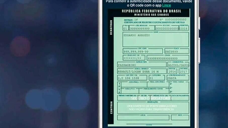Documento de transferência agora só é emitido no momento da venda do veículo