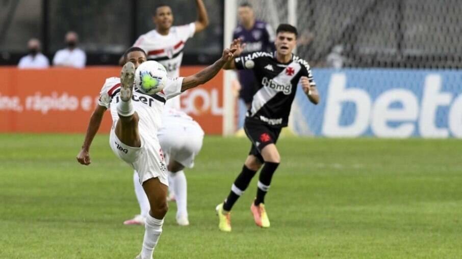 São Paulo e Vasco se enfrentam pelo jogo de ida das oitavas da Copa do Brasil