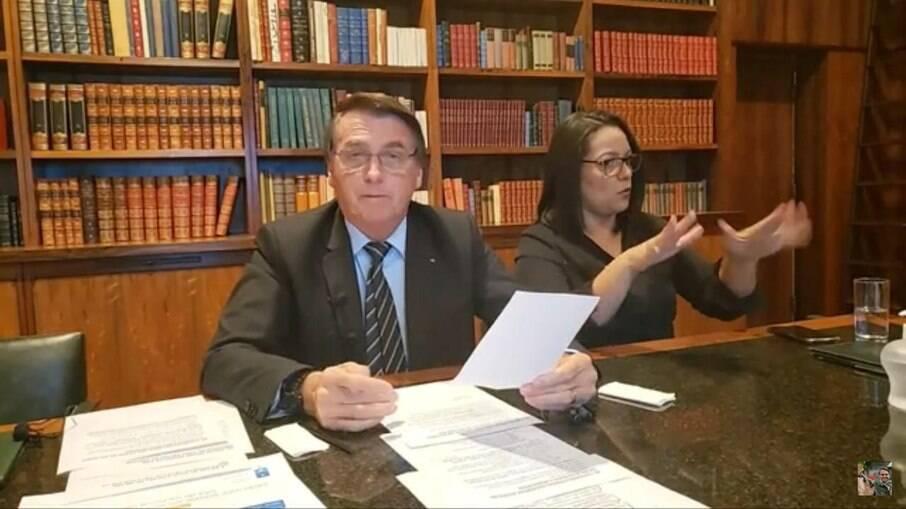 Bolsonaro live 25/3