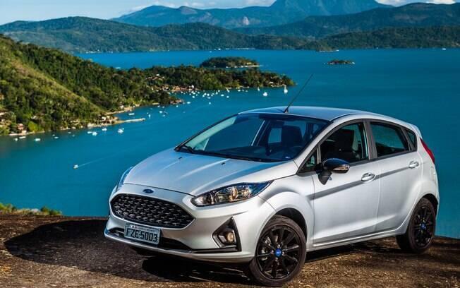Ford Fiesta tem sido bem aceito no mercado de seminovos, mesmo depois de ter saído de linha no Brasil, no ano passado