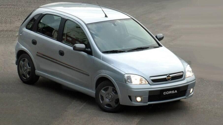 Chevrolet Corsa é um modelo que também tem boa procura entre os modelos usados no Brasil