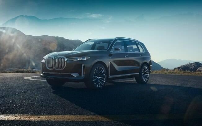 BMW X7 Concept antecipa como será a versão de produção do novo utilitário esportivo para sete ocupantes
