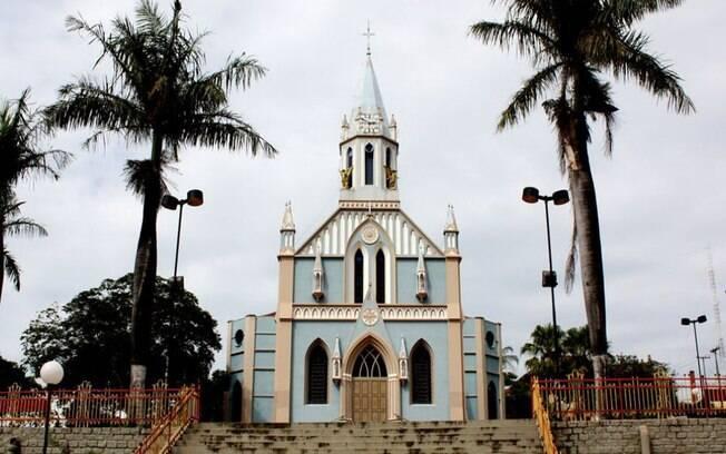 A Igreja Nossa Senhora Aparecida é muito tradicional na cidade