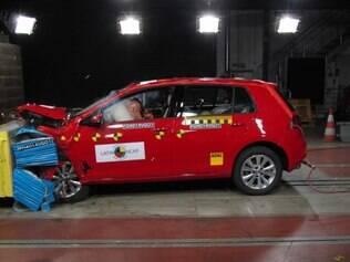 Volkswagen Golf para por crash-test realizado pelo Latin NCAP