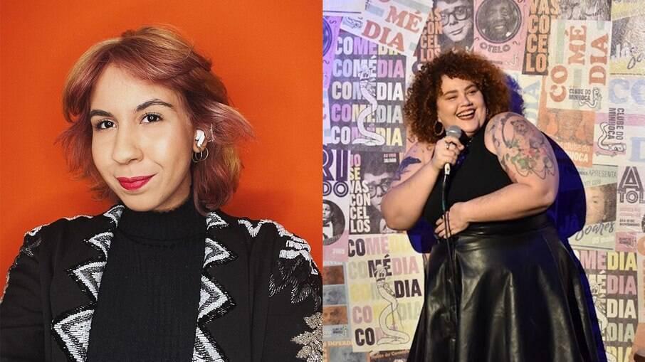 As comediantes Ademara e Babu Carreira