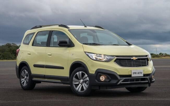 Faz questão de um carro mais novo? O Chevrolet Spin Activ já surge entre os seminovos de sete lugares do Brasil