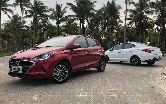 Nova geração do Hyundai HB20, que chega com diversos equipamentos modernizados