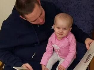 Jorja descobriu o tumor em abril de 2016