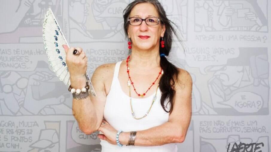 Laerte Coutinho tem 70 anos e revelou ser uma mulher transgênero em 2010