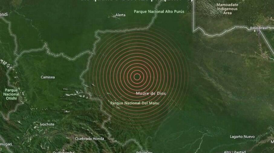 Terremoto atinge Peru e moradores de cidades brasileiras sentem tremor