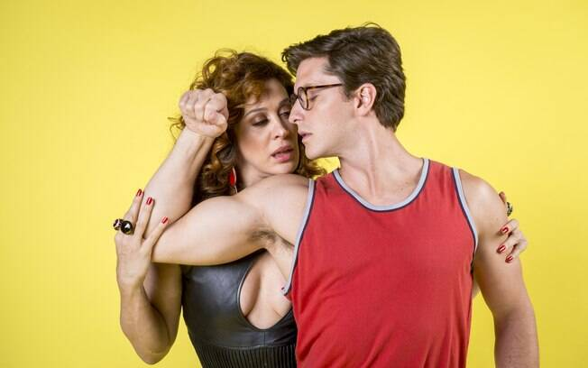 Lidiane (Claudia Raia) e Patrick (Klebber Toledo)