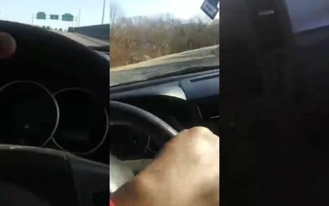 Vídeo foi divulgado nas redes da polícia