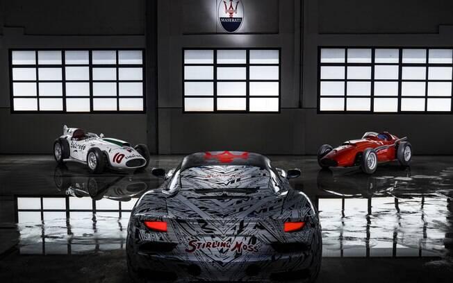 Maserati MC20 tem as primeiras imagens divulgadas antes da apresentação completa. Modelo é inspirado na Fórmula 1 dos anos 50