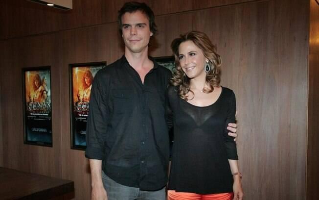 Guilhermina Guinle com o irmão Charly Braum