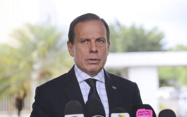 Governador de São Paulo João Dória