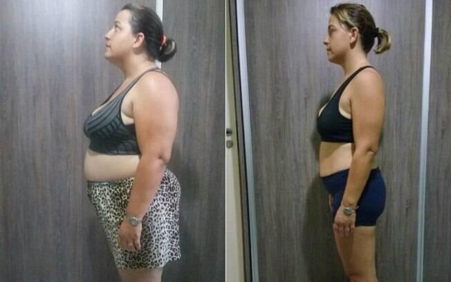 Ana Carolina mostra antes e depois da dieta para emagrecer