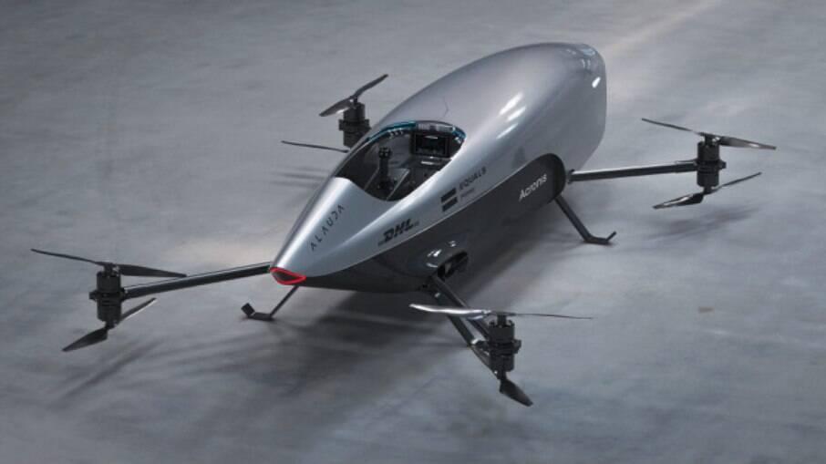 Carro voador da Alauda pode atingir 120 km/h, mas o modelo será operado aoenas de forma remota