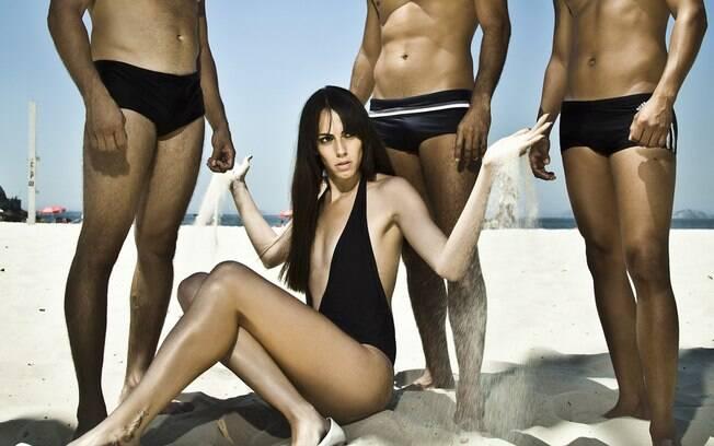 Felipa Tavares faz parte do casting da agência 40° Graus, de Sergio Mattos