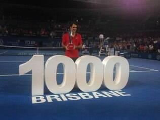 Federer é o maior vencedor de Grand Slams, com 17 conquistas