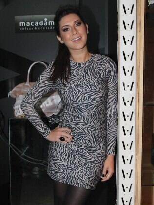 Fernanda Paes Leme em evento de moda
