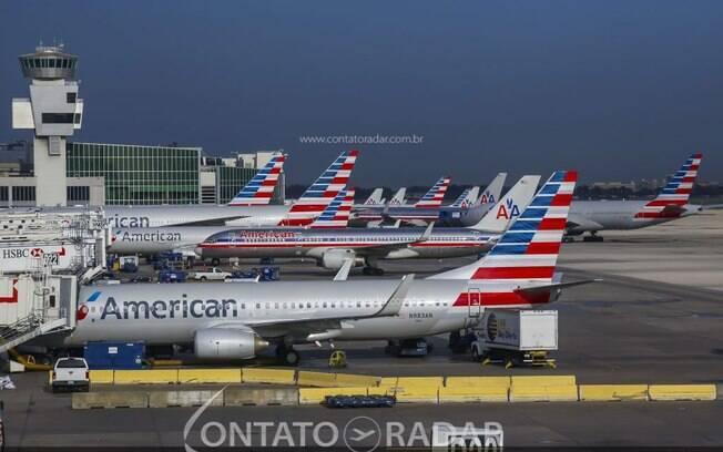 Tráfego aéreo nos EUA volta aos níveis da década de 80