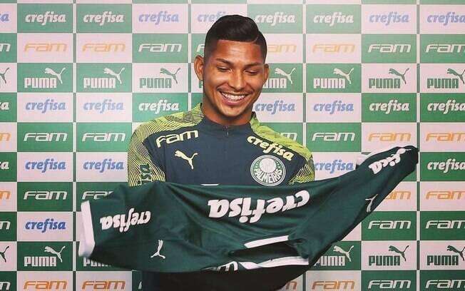 Rony, jogador do Palmeiras
