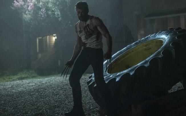 Hugh Jackman vive Wolverine no filme