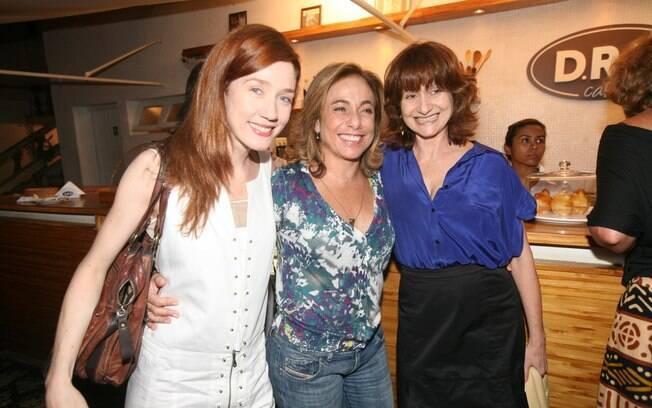 Camila Morgado, Cissa Guimarães e Zezé Polessa também conferiram a estreia do espetáculo