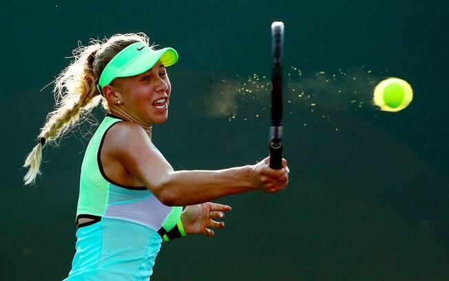 Tenista Amanda Anisimova tem só 18 anos e já fechou contrato milionário com a Nike