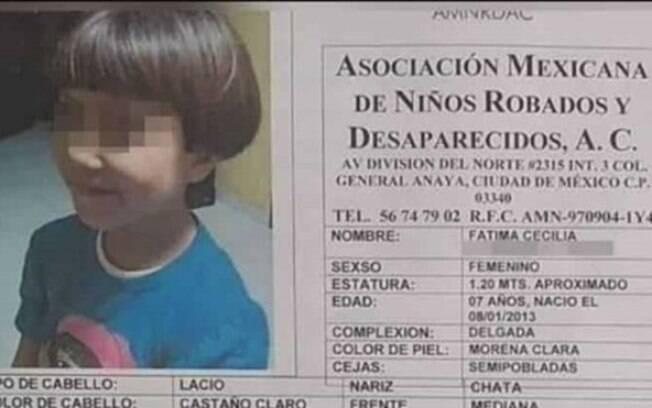 Fátima Cecilia Aldrighett Anton desapareceu em 11 de fevereiro