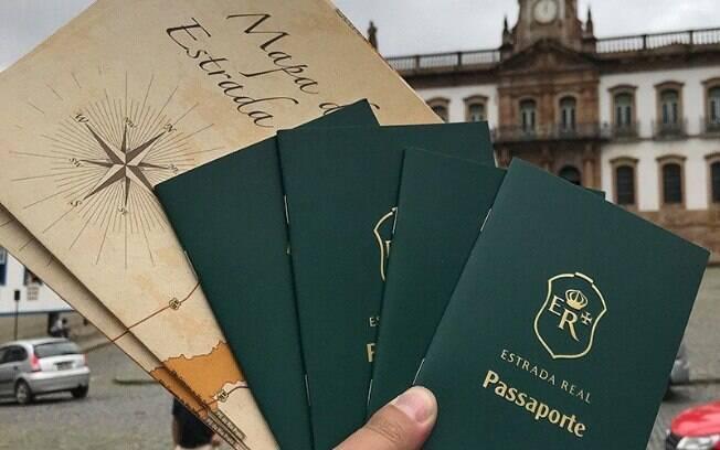 A Estrada Real, que conectava MG aos portos do Rio e de São Paulo, tem até um passaporte próprio hoje em dia