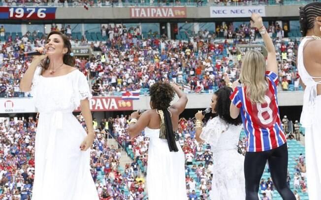 Ivete Sangalo, Claudia Leitte e Margareth Menezes