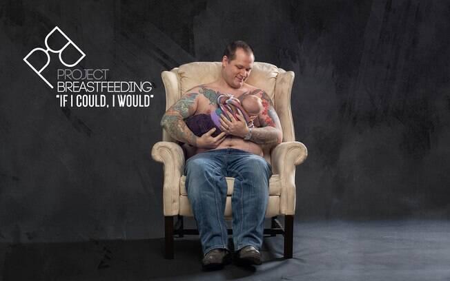 Campanha visa conscientizar pais sobre necessidade de dar apoio a suas mulheres