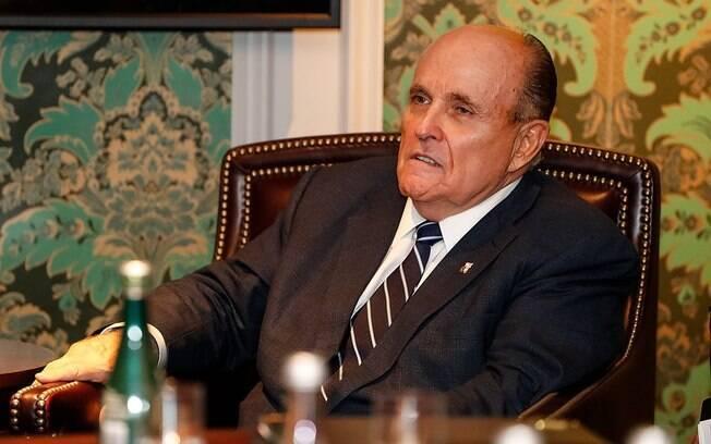 Ex-prefeito de Nova York, Rudolph Giuliani atua como advogado de Donald Trump