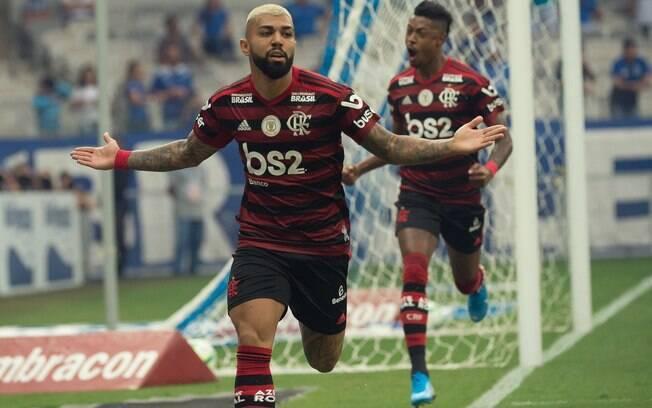 Gabigol foi destaque do Flamengo em 2019