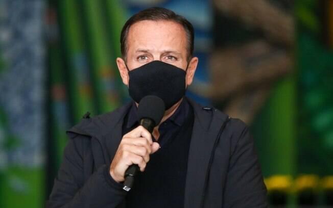 AO VIVO - Gestão Doria faz anúncios sobre combate a pandemia de covid