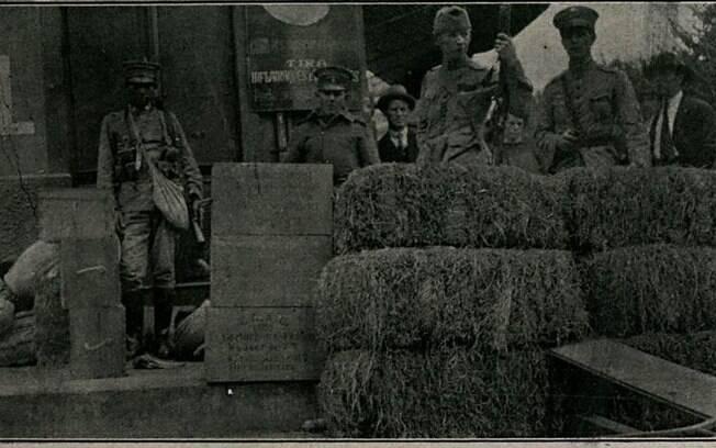 Trincheira Av. S. João, perto QG EB (Conselheiro Crispiniano)