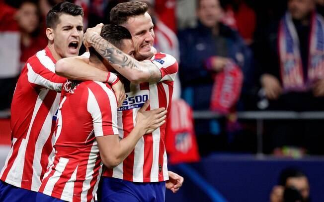 Atlético de Madrid viaja na terça-feira (11) para enfrentar o Leipzig pela Champions
